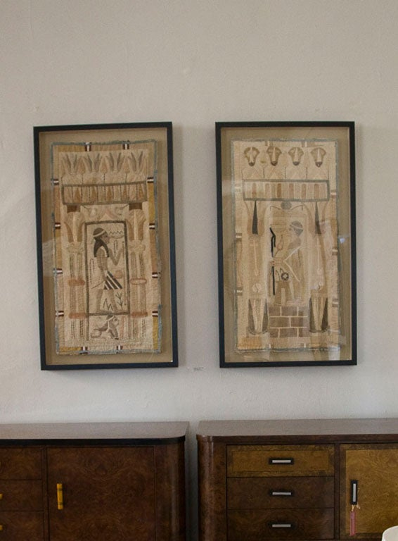 Antique Egyptian Applique Panels 6