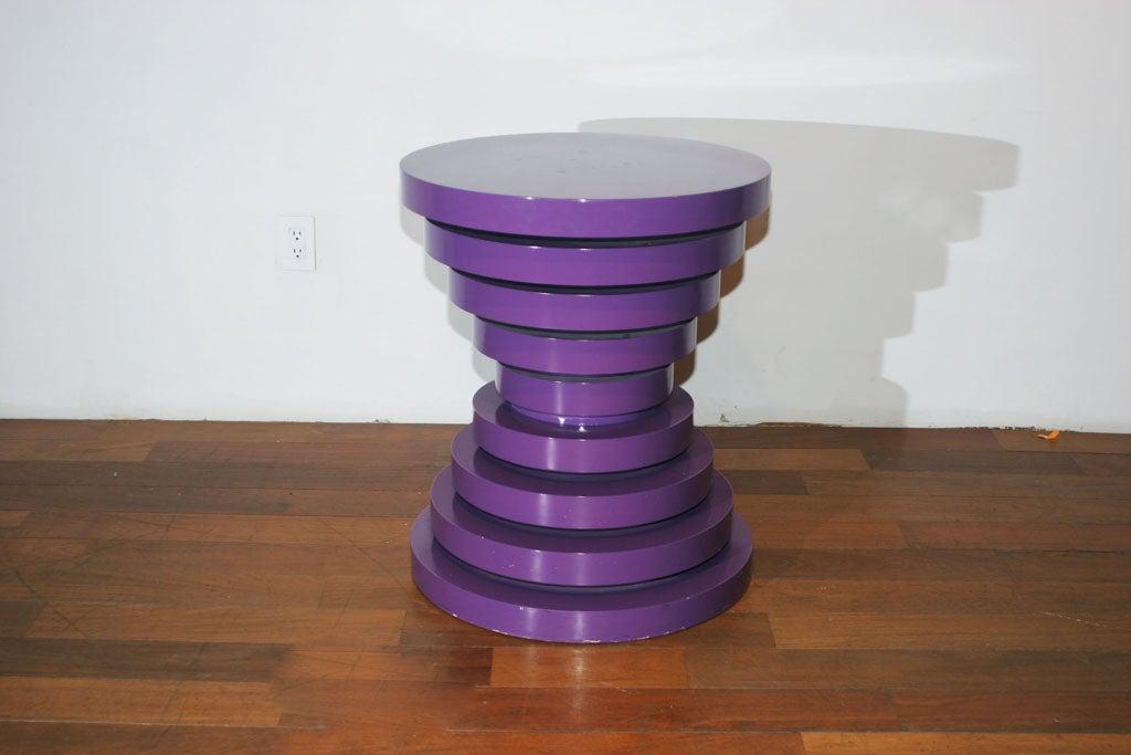 Purple Pedestal At 1stdibs