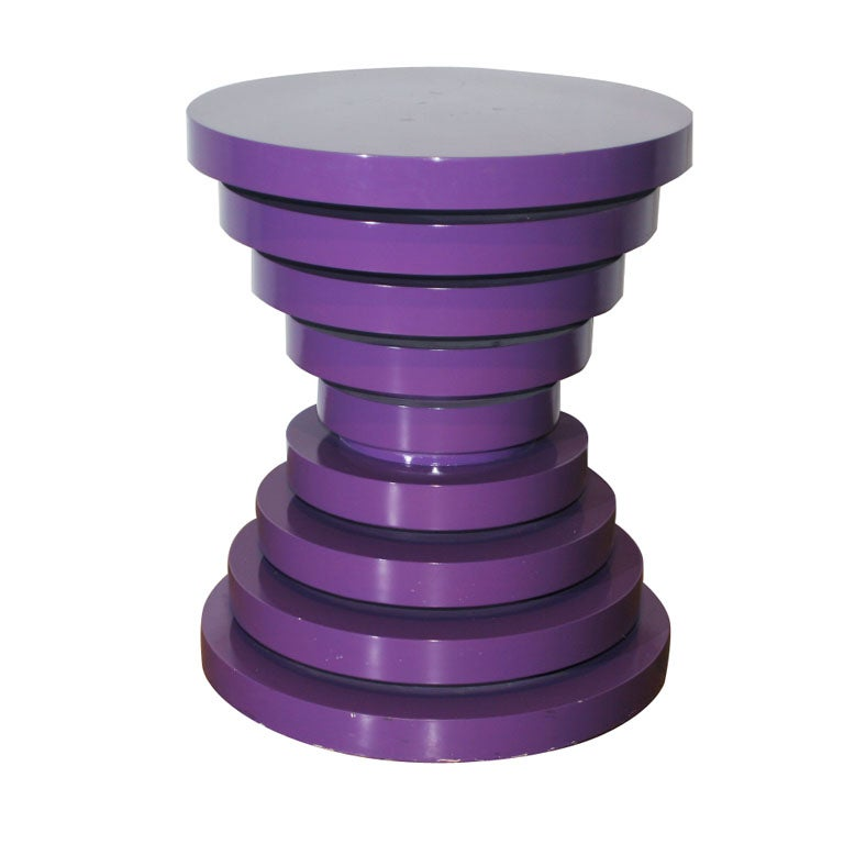 Purple Pedestal At 1stdibs