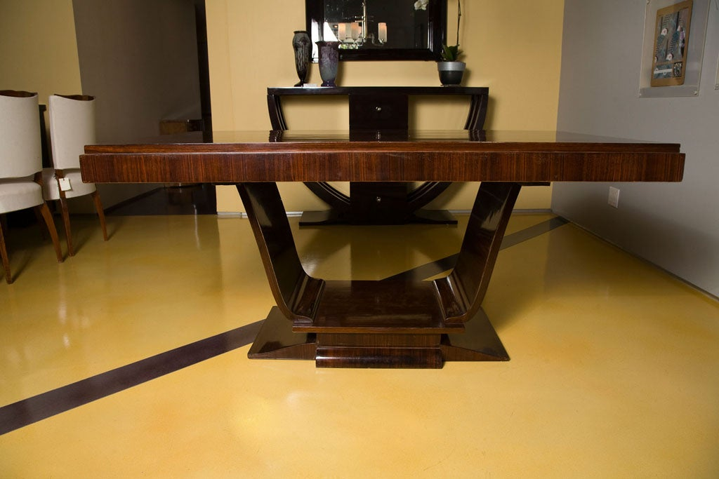 art deco dining room library table at 1stdibs