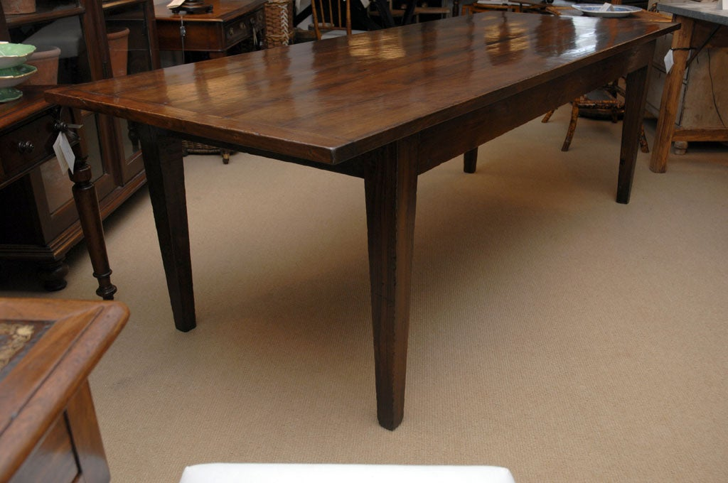 7 foot 11 inch long farmhouse dining table at 1stdibs