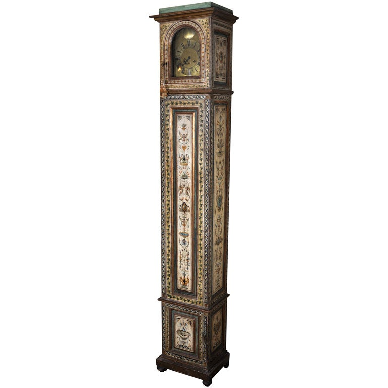 19TH Century Italian Renaissance Revival Case Clock
