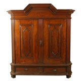 German Oak Kas / Linen Press