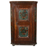 Painted Dutch Kas / Cupboard