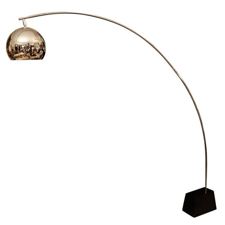 Arch Floor Lamp At 1stdibs