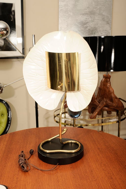 Table Lamp, Brass 5