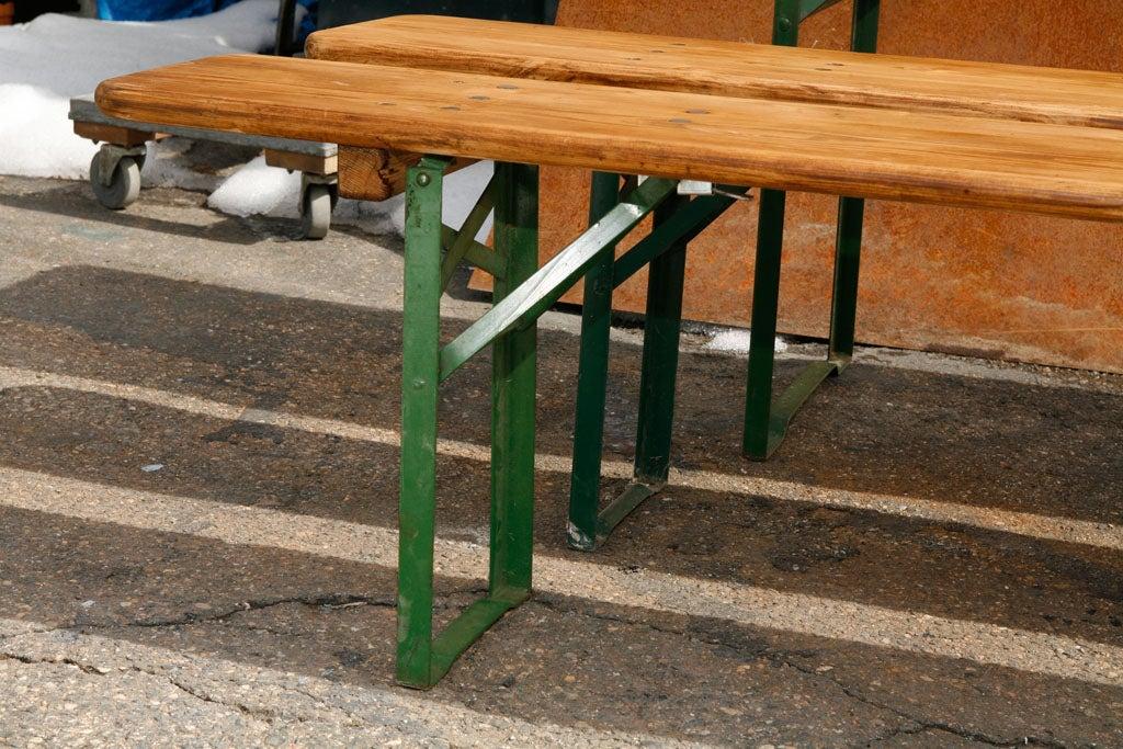 German Beer Hall Table U0026 Benches
