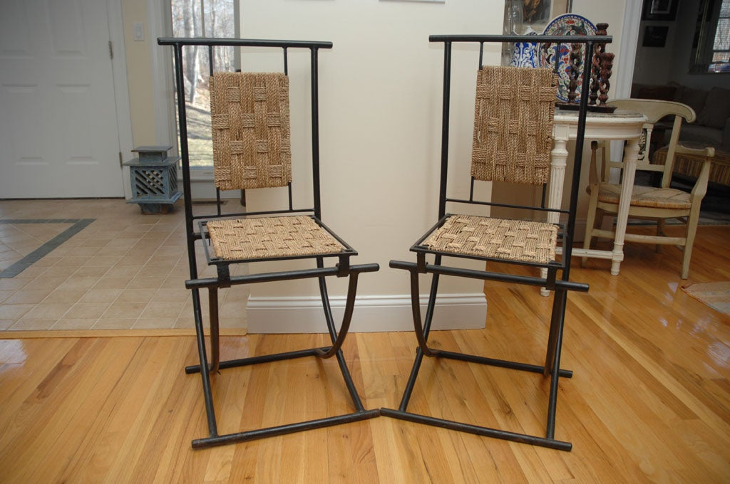 Moroccan Folding Chairs For Sale