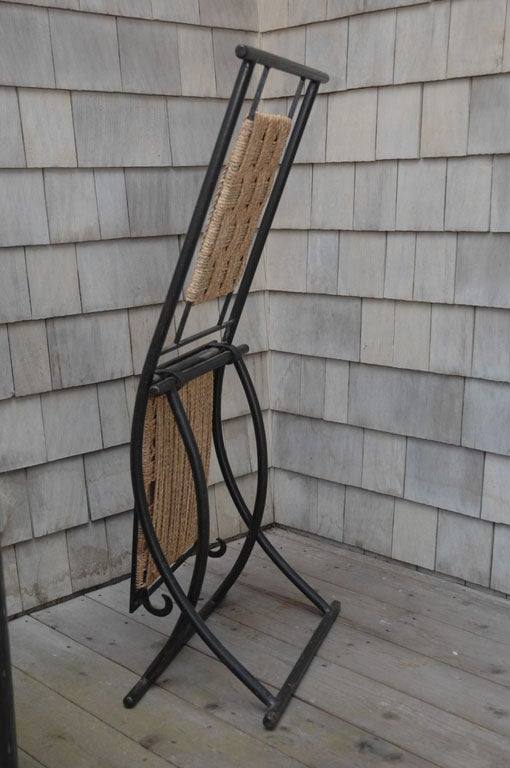 Mid-20th Century Folding Chairs For Sale