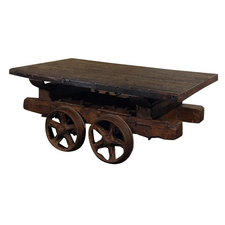 Antique Industrial Coffee Tables