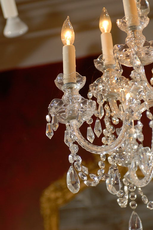 Waterford Style All Crystal Chandelier 4