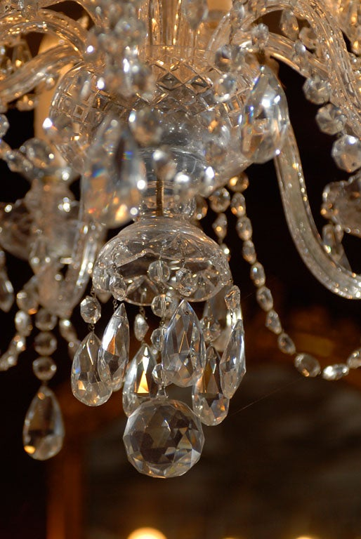 Waterford Style All Crystal Chandelier 5