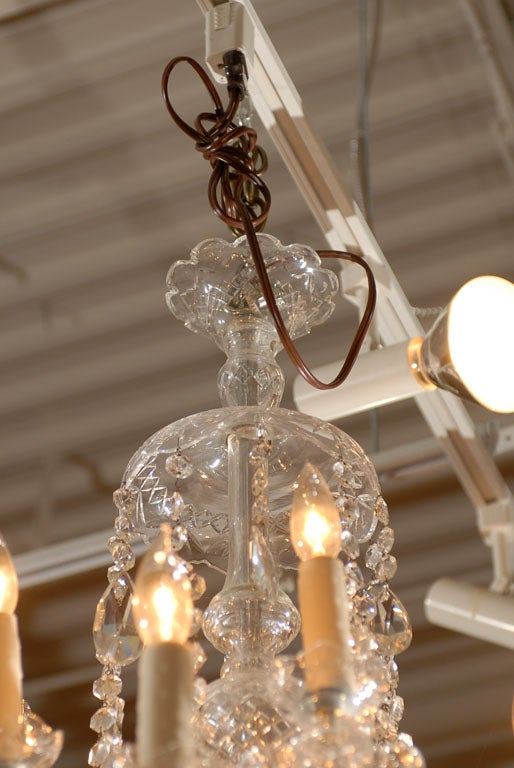 Waterford Style All Crystal Chandelier 6