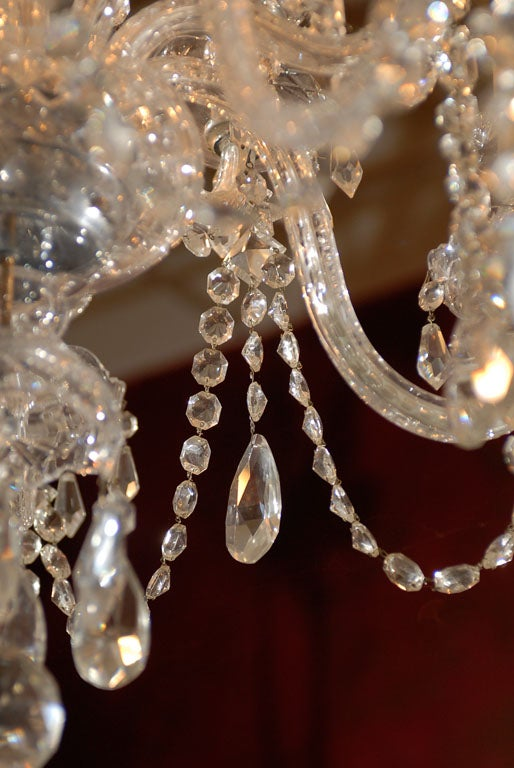 Waterford Style All Crystal Chandelier 9