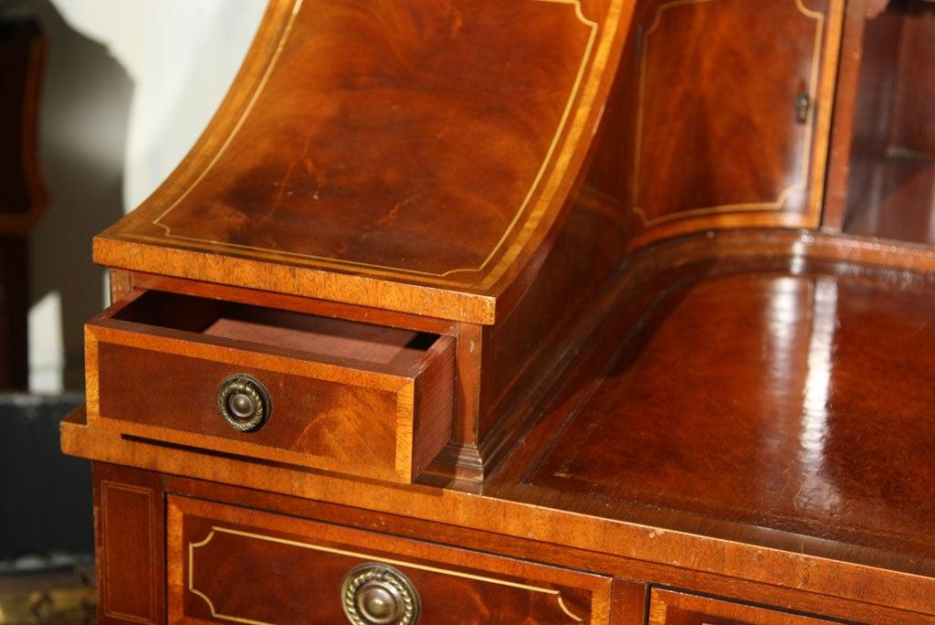 American Mahogany Carlton House Banded Desk