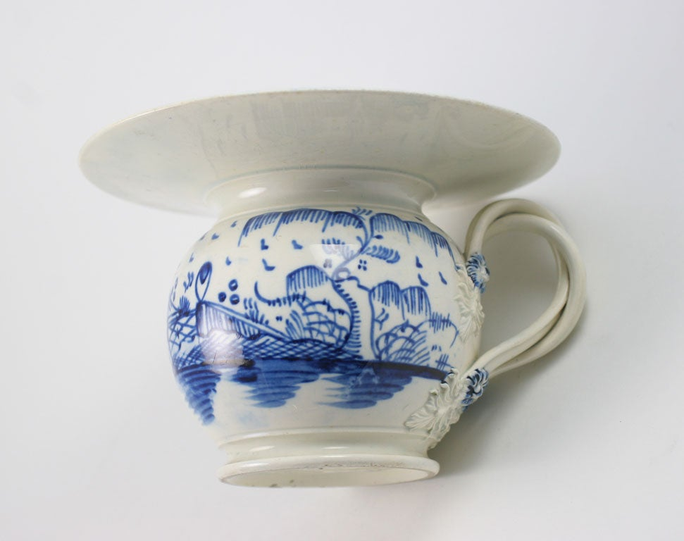 English Pearlware Lady S Spittoon At 1stdibs