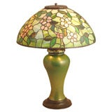 Tiffany Apple Blossom Table Lamp