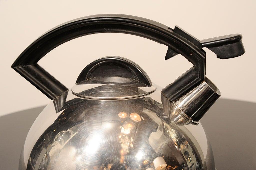 Machine Age Art Deco Tea Kettle At 1stdibs