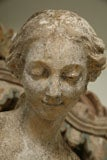 Composite Stone Garden Statue of a Lady taking her Bath image 10