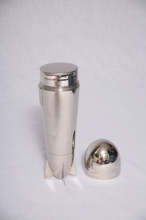 Mid-20th Century Zeppelin Cocktail Shaker c. 1930's