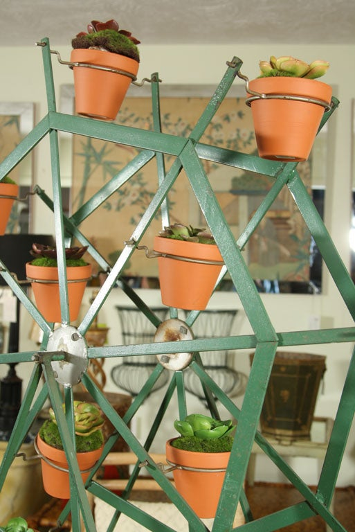 Ferris Wheel Garden Planter Spins At 1stdibs