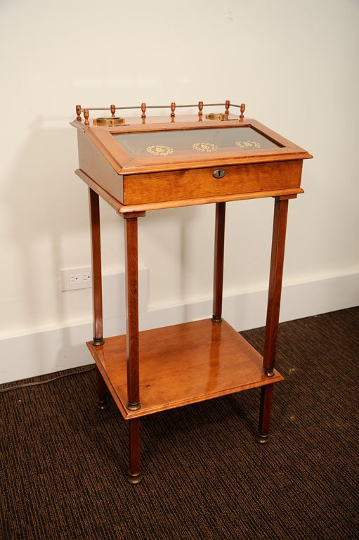 Biedermeier Cigar Desk For Sale 5