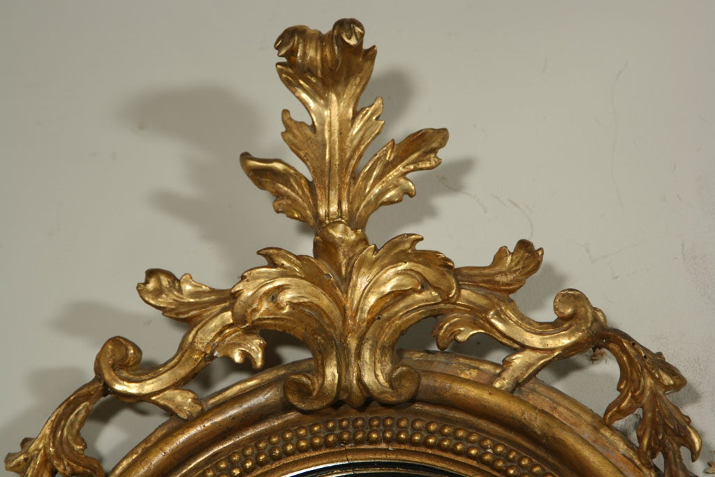 Pair Giltwood Mirror And Candle Sconces At 1stdibs
