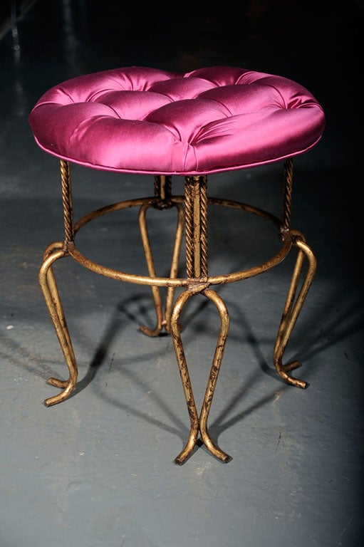 French-Style Stool 5