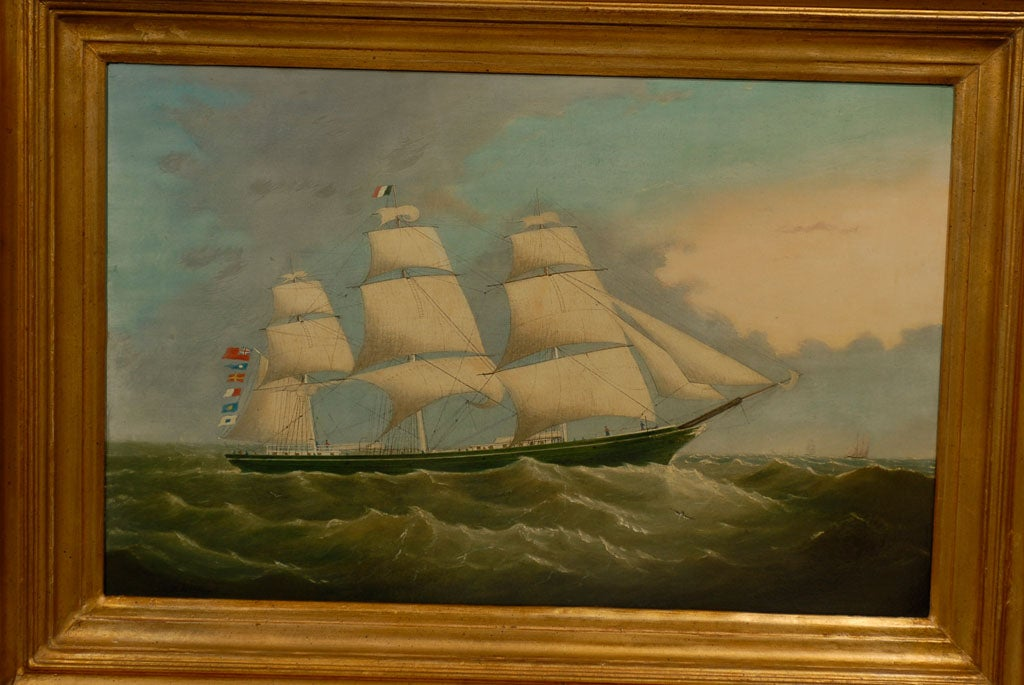 Canvas Large ship Painting For Sale