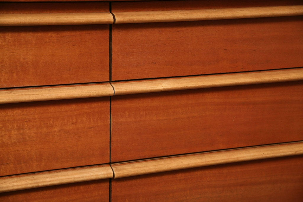 Tres Smart 50's Modern  Walnut Dresser 1