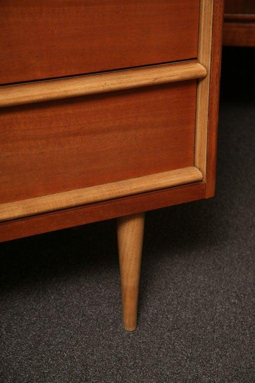 Tres Smart 50's Modern  Walnut Dresser 2