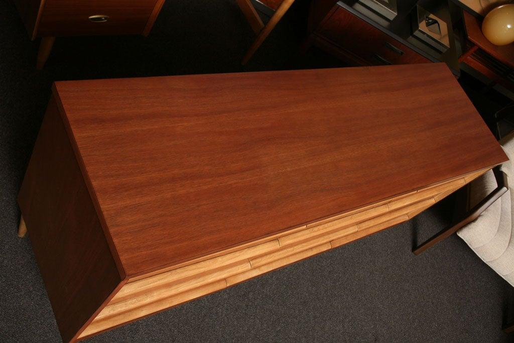Tres Smart 50's Modern  Walnut Dresser 3