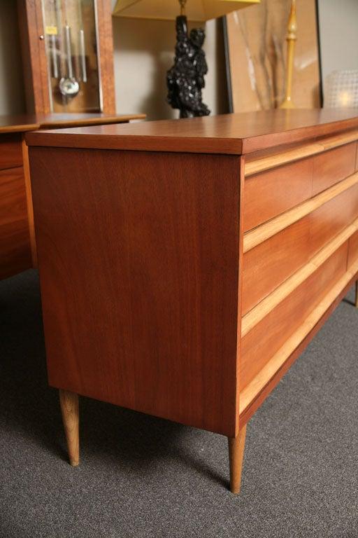 Tres Smart 50's Modern  Walnut Dresser 4