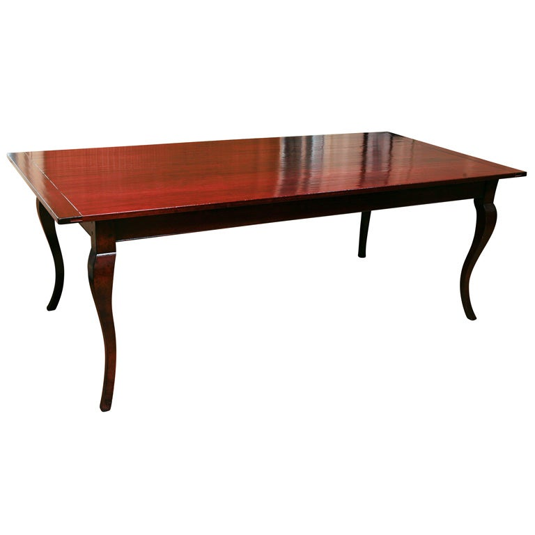Reproduction Cherry Table, with Two Leaves