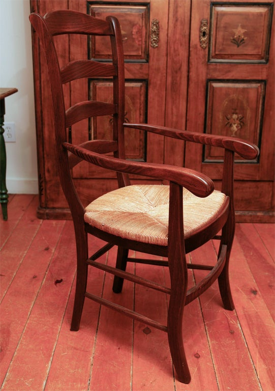 French Reproduction Ladder Back Chairs At 1stdibs