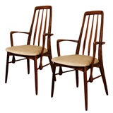 "Pair of ""Eva""  Side Chairs by Koefoeds Hornslet"