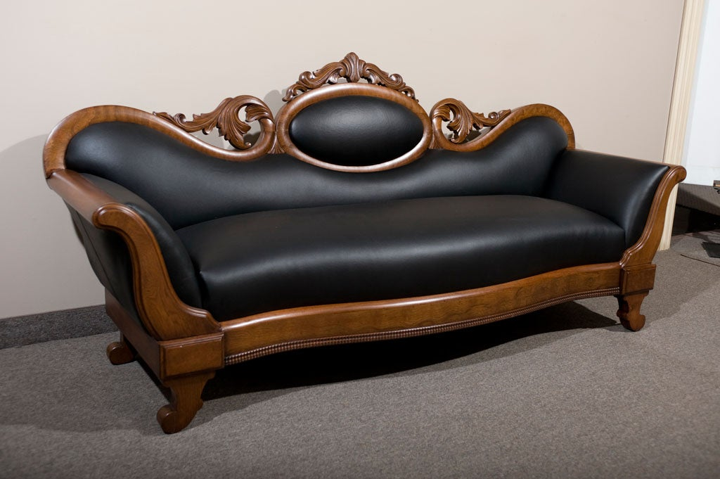 victorian leather sofa at 1stdibs