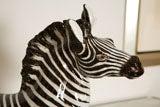 Italian Ceramic Zebra with Painted Finish image 3