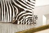 Italian Ceramic Zebra with Painted Finish image 4