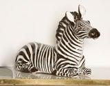 Italian Ceramic Zebra with Painted Finish image 10