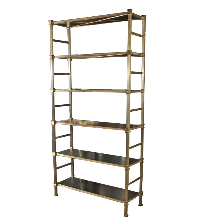 maison jansen etagere 39 bronze at 1stdibs. Black Bedroom Furniture Sets. Home Design Ideas