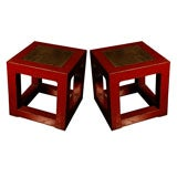Chinese Cube Tables