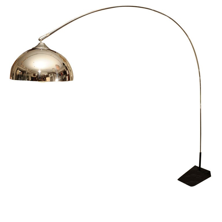 Large Arch Floor Lamp At 1stdibs