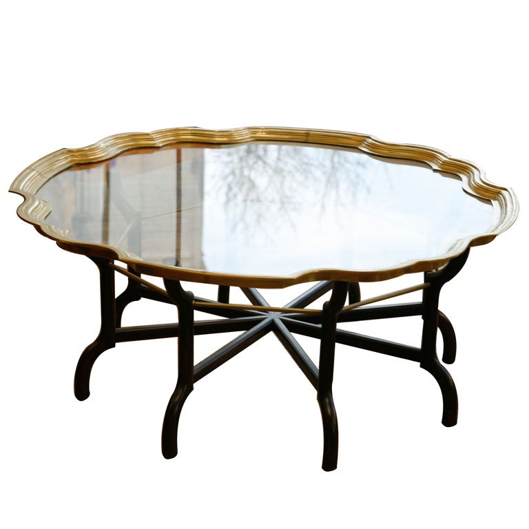 coffee table by baker furniture co at 1stdibs
