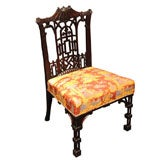Antique Mahogany Chinese Chippendale Chair