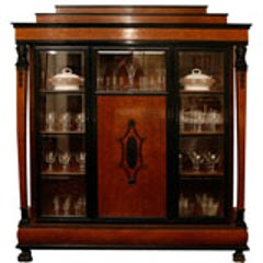 classical american empire marble topped mahogany sideboard at 1stdibs. Black Bedroom Furniture Sets. Home Design Ideas