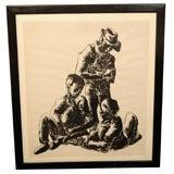 Coal Miners, West Virginia by Louis Wolchonok