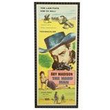 Original Movie Poster THE HARD MAN Guy Madison