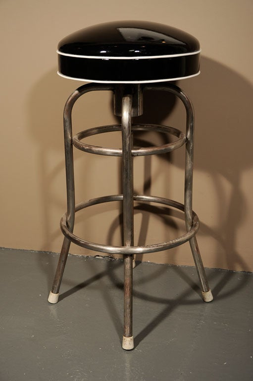 Set of 4 quotDinerquot Bar Stools with Custom Patent Leather  : IMG8800 from 1stdibs.com size 511 x 768 jpeg 40kB