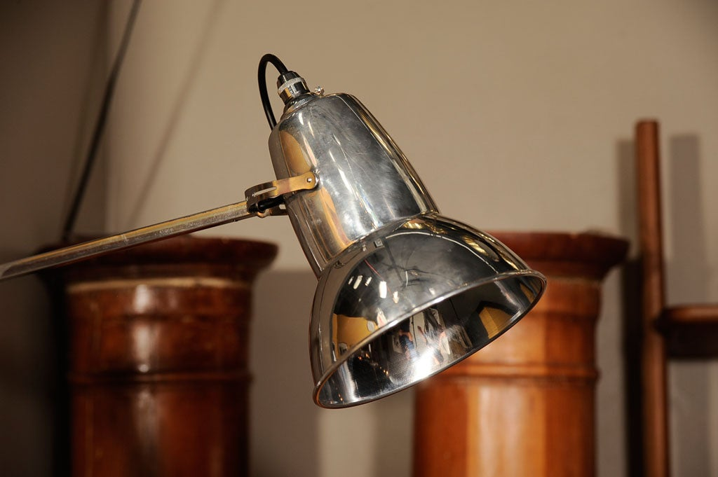 Pair of Vintage Wall Mount Anglepoise Lamps by George Cawardine at 1stdibs
